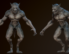 Lycan Werewolf 3D model