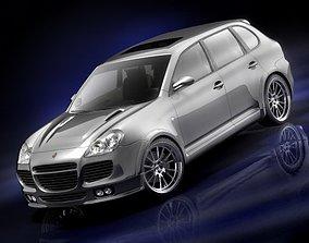 3D model Porsche Cayenne Turbo 2005