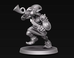 Goblin musician 3D printable model