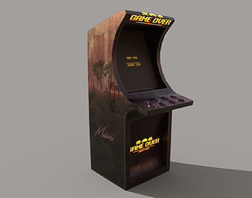 Arcade Machine 3D model low-poly