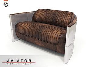 Aviator sofa 3D model