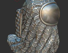 Among Us Figure 3d model STL FILE - The GHOST 3D print