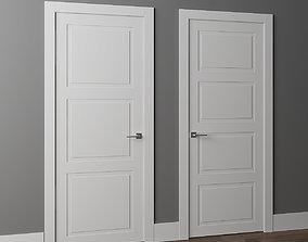 3D model Doors Volkhovets Neo Classic 8003 8004