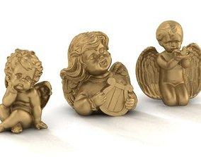 cupids angel 3D printable model