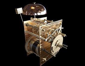 Striking Clock Mechanism 3D
