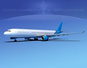 Airbus A330-300 Corporate 3 3D