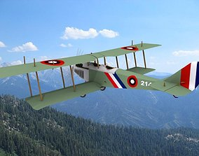 3D Curtiss JN-2 Jenny V02
