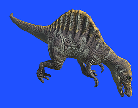 Spino 3D Model animated