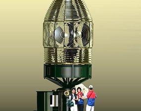 Fresnel Lens for Lighthouse 1st Oreder 3D