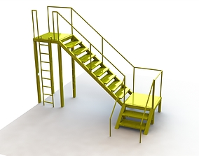 3D model Stair playground