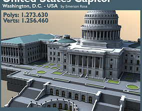 United States Capitol 3D