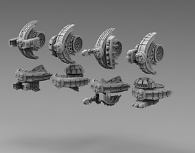 3D printable model Modular Greater Good alt drones 1
