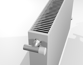 radiators thermodynamics 3D asset