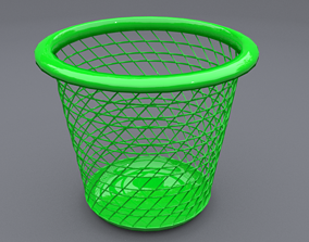 3D trash can 5