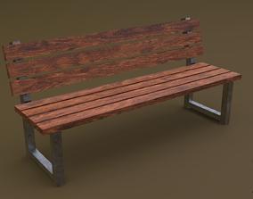 3D asset Bench 33