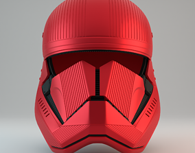 Sith Trooper Helmet - Star Wars The Rise 3D print model 2