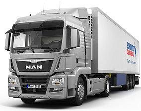 MAN TGS LX 2012 3D model