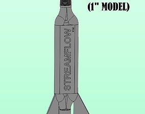3D print model STREAMFLOW X4 - 1-in Vortex Generator