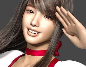 Pretty Asian Girl Again 3D