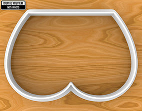 Tushie Cookie Cutter 3D printable model