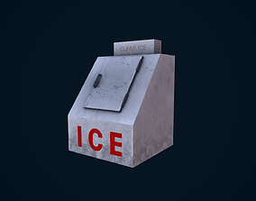 3D model Ice Machine