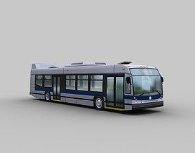3D asset Nova Bus LFS
