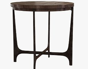 3D model Holly hunt portia side table