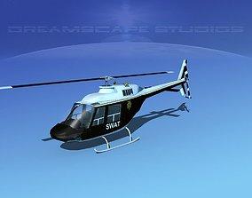 3D model Bell 206 JetRanger SWAT