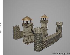 3D asset Walls