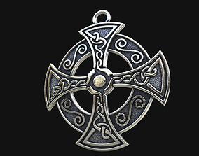Celtic cross 3D printable model