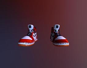 Miles Morales Shoes 3D MODEL