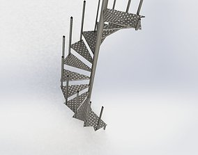 building-component 3D Spiral Staircase