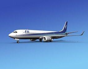 3D model Boeing 737-900ER All Nippon