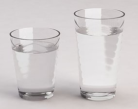 3D model DESIGN-Glass Water Wave