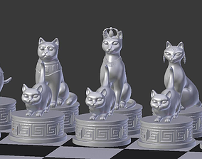Chess Cats 3D print model