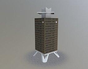 Amsterdam ADAM Toren 3D asset