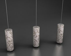 Lampara techo furniture 3D