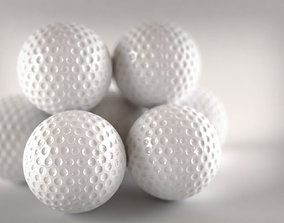 3D Plastic Golf Ball