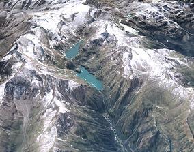 Mountain National park Hohe Tauren 3D model