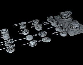 Ship Gun Pack 3D