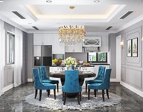 interior Diningroom classical 3D model