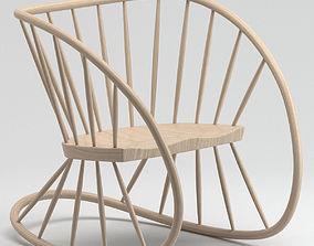 Heal Rocking Chair 3D model