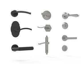 3D model Handle door 2
