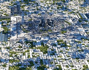3D model Future City HD 2019 V 2