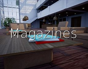 Magazines SHC Quick Office LM 3D asset