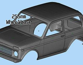 Printable Body Lada Niva 3D print Russian SUVs Scale