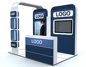 Exhibition Stand advertising 3D