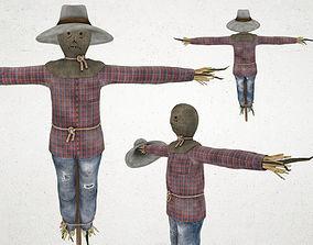 Scarecrow 3D asset
