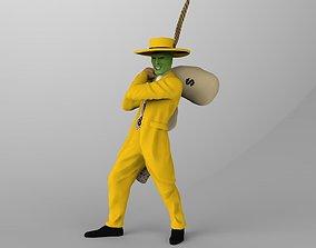The Mask 3D printable Jim Carrey