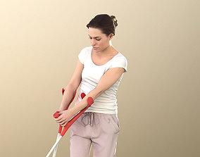 Juliette 10833 - Woman With Crutches 3D asset